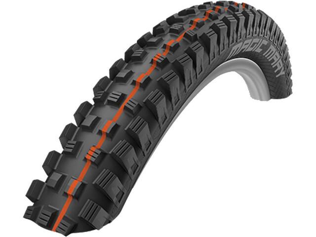 "SCHWALBE Magic Mary Super Trail Evolution Folding Tyre 27.5x2.40"" TLE E-50 Addix Soft, black"